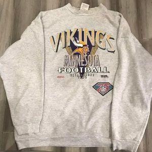 Vintage NFL Minnesota Vikings Crewneck Sweater